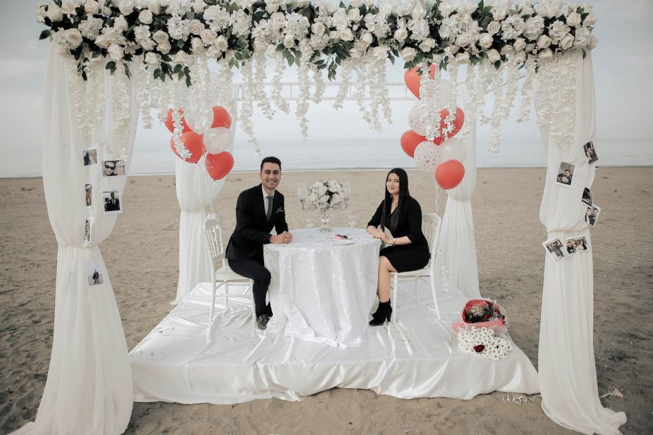 Evlilik Teklifi Kumsal