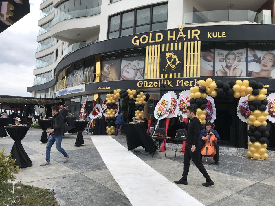 Gold Hair Açýlýþ